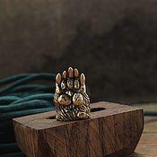 Сувениры и подарки handmade. Livemaster - original item Bear`s paw bead for lanyard. Handmade.