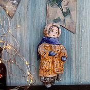 Сувениры и подарки handmade. Livemaster - original item Christmas decorations: Natasha. Handmade.