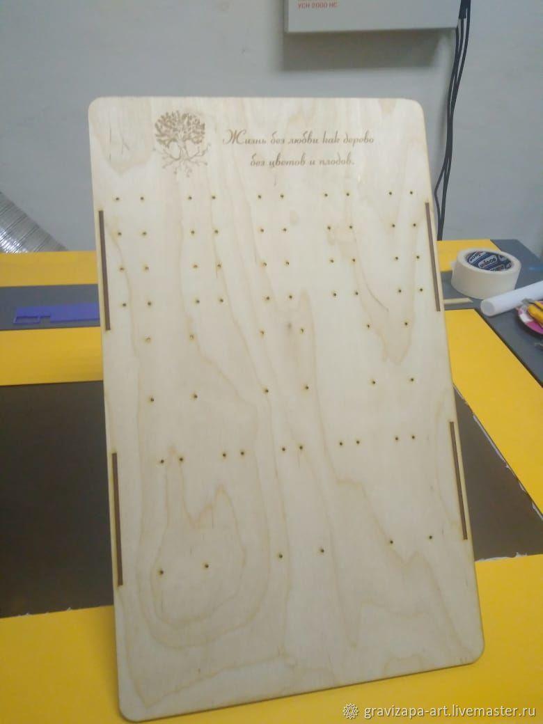 Стенд - стойка для сережек. Размер поля 50х30 см высота 37,5, Стенды, Смоленск,  Фото №1