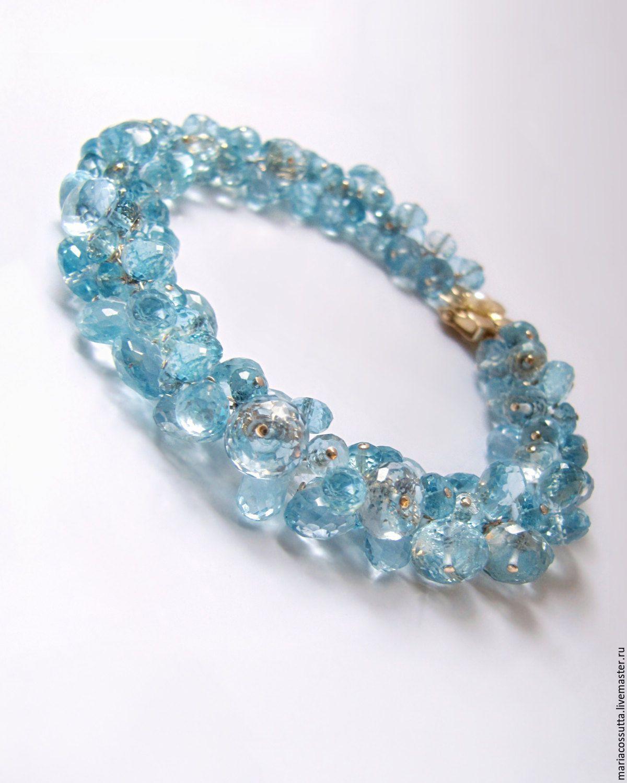 Аквамарин камень браслеты