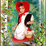 """Работы для детей, ручной работы. Ярмарка Мастеров - ручная работа Костюм """" Красная Шапочка """". Handmade."""