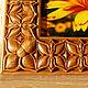 Фоторамка изготовленная методом резьбы по дереву. Выполнена в классическом стиле с орнаментом `Бабочки`.