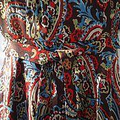 """Одежда ручной работы. Ярмарка Мастеров - ручная работа Легкое платье из шифона """"Восточная элегантность"""". Handmade."""