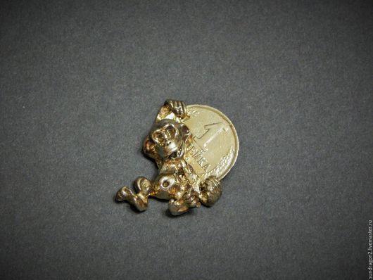 """Обереги, талисманы, амулеты ручной работы. Ярмарка Мастеров - ручная работа. Купить денежный талисман """"Богатенькая обезьянка"""" бронза. Handmade."""