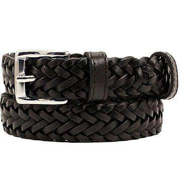 Accessories handmade. Livemaster - original item Copy of Green leather belt. Handmade.