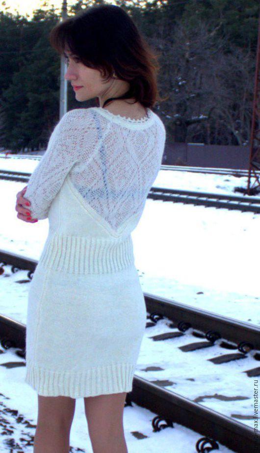 Платья ручной работы. Ярмарка Мастеров - ручная работа. Купить Платье ВАЛЕНСИЯ. Handmade. Белый, платье вязаное крючком