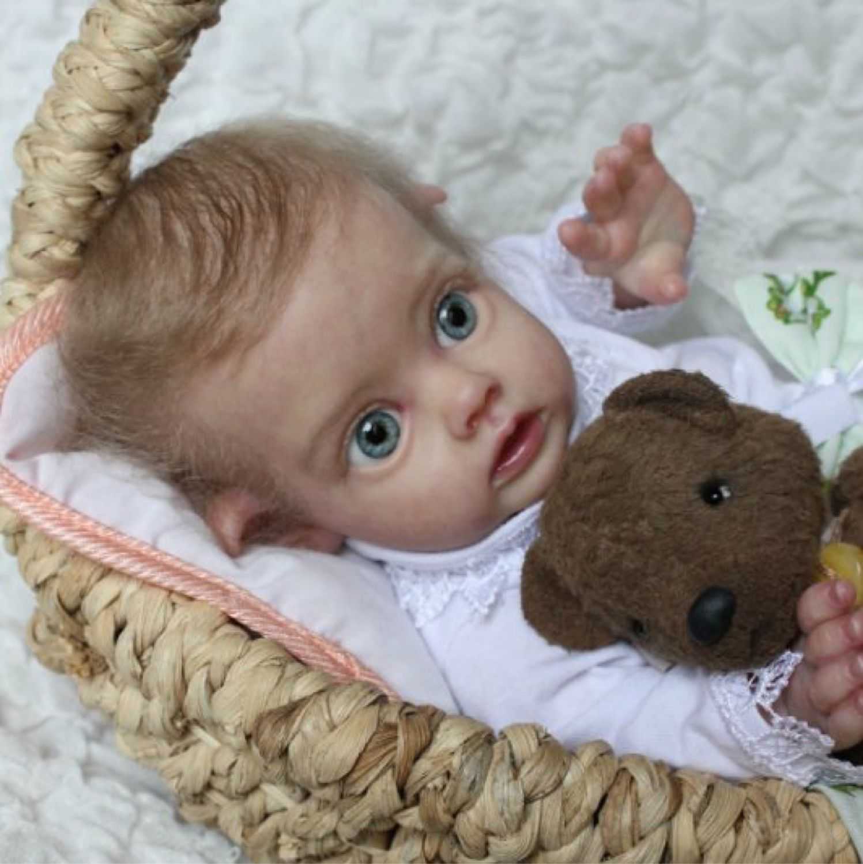Куклы-младенцы и reborn ручной работы. Ярмарка Мастеров - ручная работа. Купить Малышка Фло, эйфилька. Handmade. Reborn