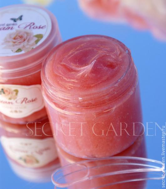Крем, гель, сыворотка ручной работы. Ярмарка Мастеров - ручная работа. Купить Гидрофильный гель  Cream Rose. Handmade. Розовый