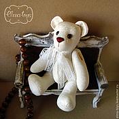"""Куклы и игрушки ручной работы. Ярмарка Мастеров - ручная работа Текстильный мишка """"Утренний латте"""". Handmade."""