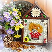 Фен-шуй и эзотерика handmade. Livemaster - original item Oberezhnoe panel for the house