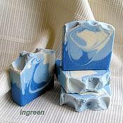 Косметика ручной работы. Ярмарка Мастеров - ручная работа Мыло облачное (натуральное мыло с нуля). Handmade.