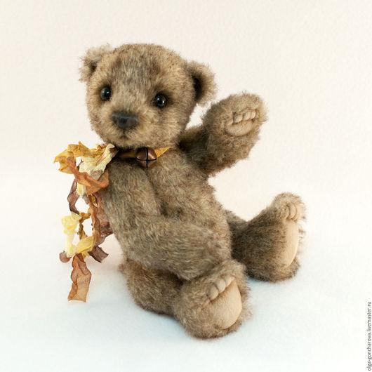 Мишки Тедди ручной работы. Ярмарка Мастеров - ручная работа. Купить Лаки, мишка тедди, мохер, 18.5 см. Handmade.