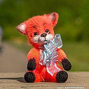 Куклы и игрушки handmade. Livemaster - original item Toy crocheted: Fox Fox. Handmade.
