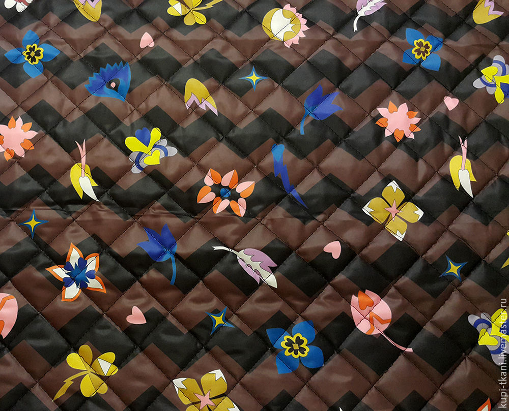 Курточная ткань Италия Зиг-Заг, Шитье, Москва, Фото №1