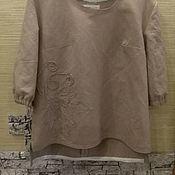 Блузки ручной работы. Ярмарка Мастеров - ручная работа Блузки: Блузка из льна. Handmade.