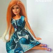 Портретная кукла ручной работы. Ярмарка Мастеров - ручная работа Barbie OOAK Emma Watson. Handmade.