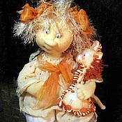 """Куклы и игрушки ручной работы. Ярмарка Мастеров - ручная работа ангелочек """"Веснушечка"""" (12). Handmade."""