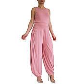 Одежда ручной работы. Ярмарка Мастеров - ручная работа Комбинезон женский, комбинезон бохо стиль, одежда для йоги. Handmade.