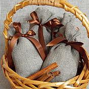Сувениры и подарки ручной работы. Ярмарка Мастеров - ручная работа Льняной мешочек из двунитки. Handmade.