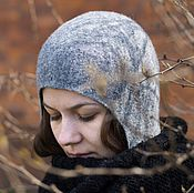 Аксессуары handmade. Livemaster - original item Winter hat felted