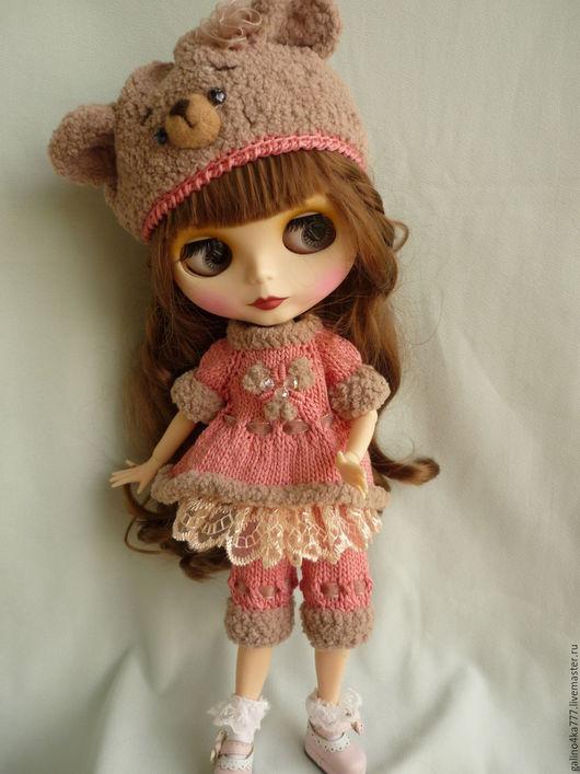 Одежда для кукол ручной работы. Ярмарка Мастеров - ручная работа. Купить Комплект Блайз Миша и Зайка. Handmade. Одежда на куклу