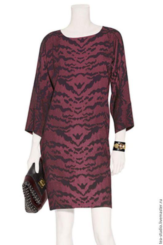 Платья ручной работы. Ярмарка Мастеров - ручная работа. Купить Платье    модель 11316. Handmade. Бордовый, однотонный, платье