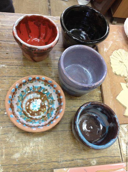 Декоративная посуда ручной работы. Ярмарка Мастеров - ручная работа. Купить керамические чашечки. Handmade. Керамика ручной работы, Керамика