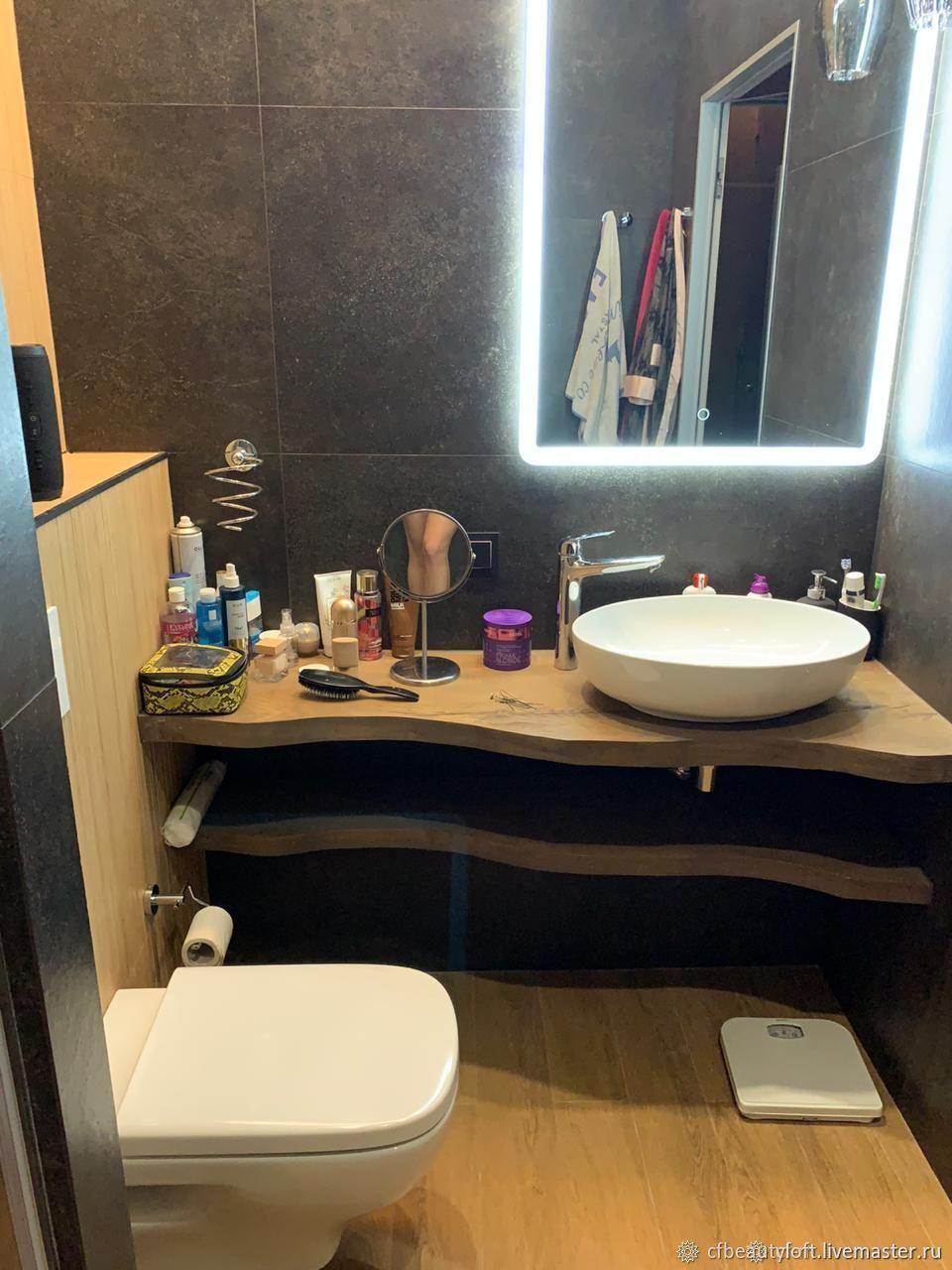 Столешница для ванны Слэб Дуба, Столы, Москва,  Фото №1