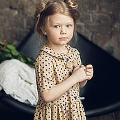 """Работы для детей, ручной работы. Ярмарка Мастеров - ручная работа платье """"Грета"""". Handmade."""