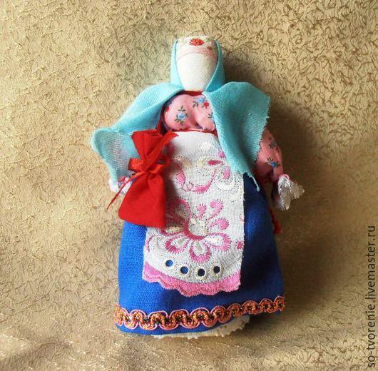 """Народные куклы ручной работы. Ярмарка Мастеров - ручная работа. Купить Кукла-оберег """"Успешница"""". Handmade. Разноцветный, кукла-оберег"""