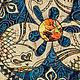 Символизм ручной работы. Синее троеслоние. Елена Громова (selenakirov). Интернет-магазин Ярмарка Мастеров. Символ, золото, стильный подарок