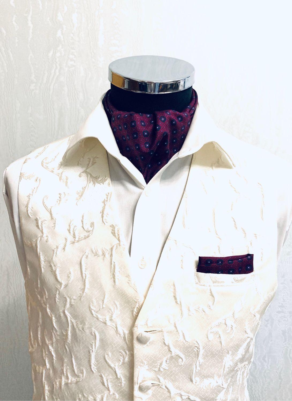 Шейный платок Аскот (галстук) Натуральный шёлк, Галстуки, Москва,  Фото №1