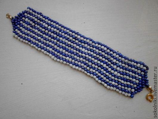 Браслеты ручной работы. Ярмарка Мастеров - ручная работа. Купить браслет из бисера. Handmade. Браслет, подарок, ручная работа, бисер