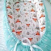 """Кокон-гнездо ручной работы. Ярмарка Мастеров - ручная работа Кокон гнёздышко """"Лисички"""". Handmade."""