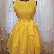 Одежда ручной работы. Ярмарка Мастеров - ручная работа Платье на лето в стиле 60-х. Handmade.