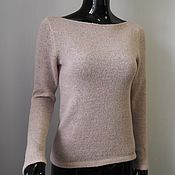 Одежда handmade. Livemaster - original item Jumper pale pink from kid-mohair. Handmade.