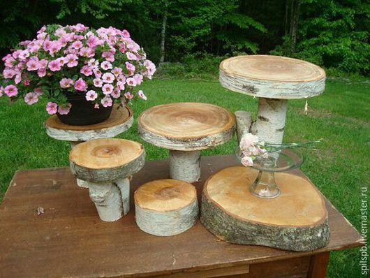 Деревья ручной работы. Ярмарка Мастеров - ручная работа. Купить пень пенек. Handmade. Белый, спил, пенек, Декор, дерево