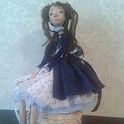 Куклы и игрушки ручной работы. Ярмарка Мастеров - ручная работа Авторская кукла Агата. Handmade.