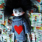 Куклы и игрушки ручной работы. Ярмарка Мастеров - ручная работа Текстильный вампиреныш. Handmade.