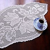 "Для дома и интерьера handmade. Livemaster - original item Doily crochet ""Beloved"". Handmade."