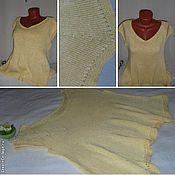 Одежда handmade. Livemaster - original item Top Champagne Color. Handmade.