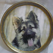 Посуда handmade. Livemaster - original item Plate with photo of Your pet. Handmade.