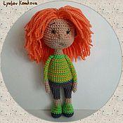 Куклы и игрушки ручной работы. Ярмарка Мастеров - ручная работа Куколка Поля. Handmade.