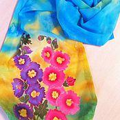 Scarves handmade. Livemaster - original item Scarf batik