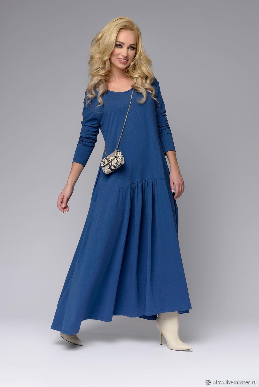 b65538c78e2 Трикотажное платье ЕВРОПА – купить в интернет-магазине на Ярмарке ...