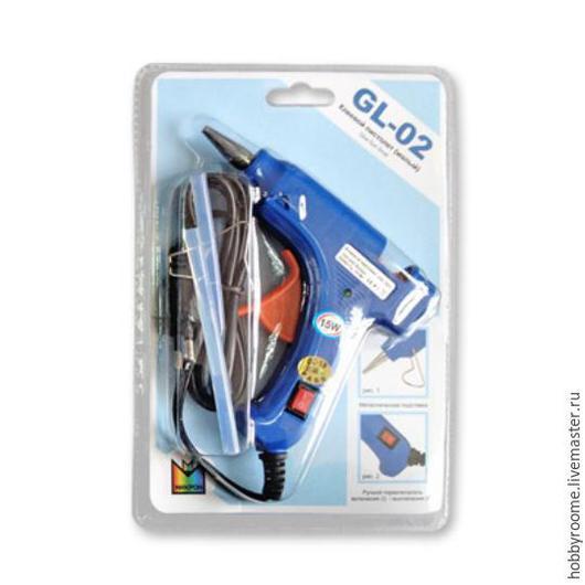 """Другие виды рукоделия ручной работы. Ярмарка Мастеров - ручная работа. Купить """"Micron"""" Клеевой пистолет GL-02 15 Вт. Handmade."""