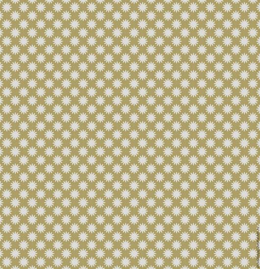 Шитье ручной работы. Ярмарка Мастеров - ручная работа. Купить Ткань Tilda Little Yellow Sun Tan. Handmade. Бежевый