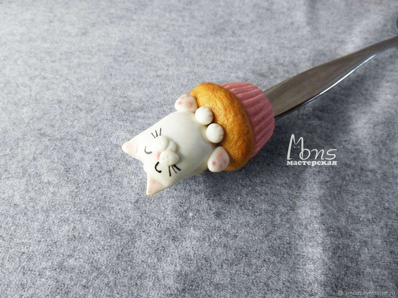 Как сделать ложку с полимерной глиной для начинающих