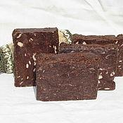 Мыло ручной работы. Ярмарка Мастеров - ручная работа Натуральное мыло на масле какао и натуральном тертом какао, 85-95 гр.. Handmade.