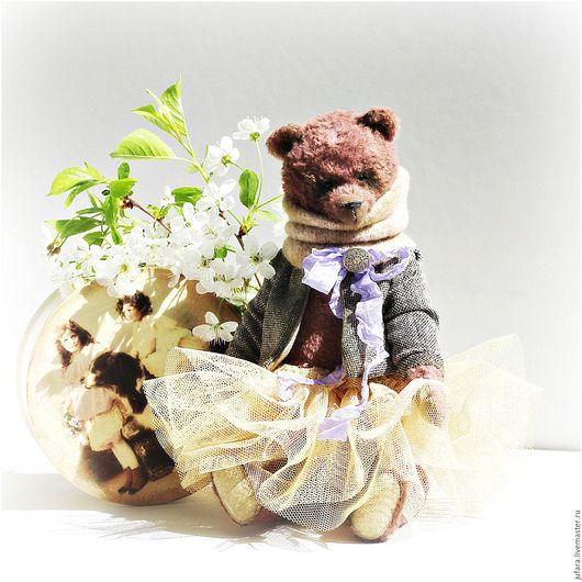 Мишки Тедди ручной работы. Ярмарка Мастеров - ручная работа. Купить Abel'. Handmade. Коричневый, медведь тедди, романтика